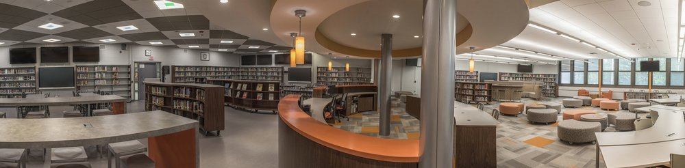 Hackettstown Middle + High School Media Center
