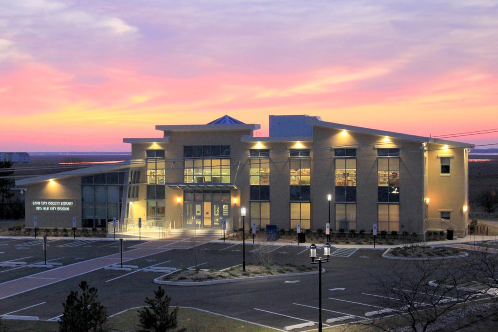 New LEED Silver Sea Isle Library