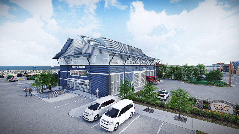 New Sea Bright Municipal Complex + OEM Building