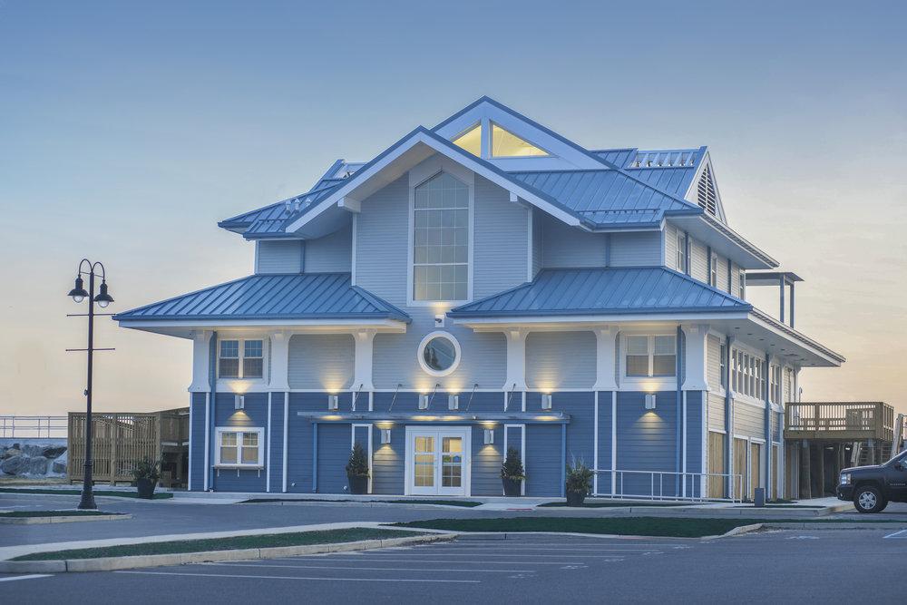 Sea Bright Beach Pavilion + Library