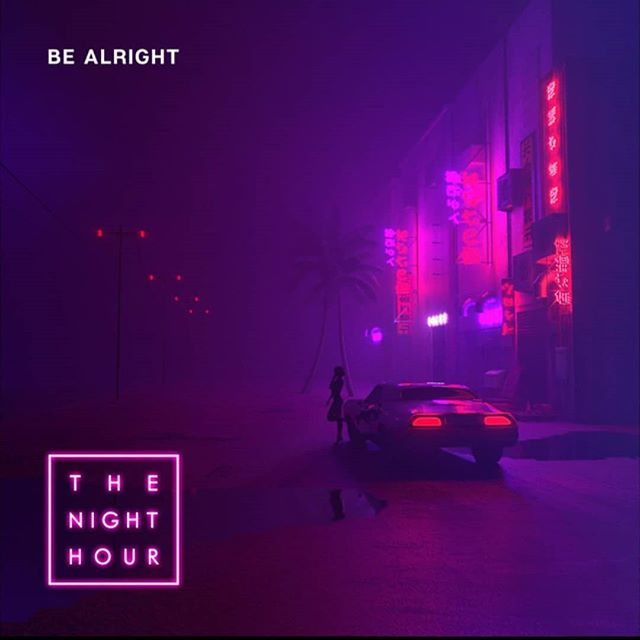 "Debut single ""Be Alright"" from @thenighthourofficial is out now! I had the pleasure of mixing this track for them. Check it out! . . . #newmusicfriday #releaseday #spotify #applemusic #googleplay #olliewride #joshdally #fm84 #bealright #colorswitch #newretrowave #synthwave #mixer #recordingengineer #London #LA #studiolife #recordingstudio #villasound"