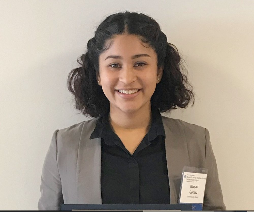 Raquel Gomez - UAlbany Summer Research Program Scholar