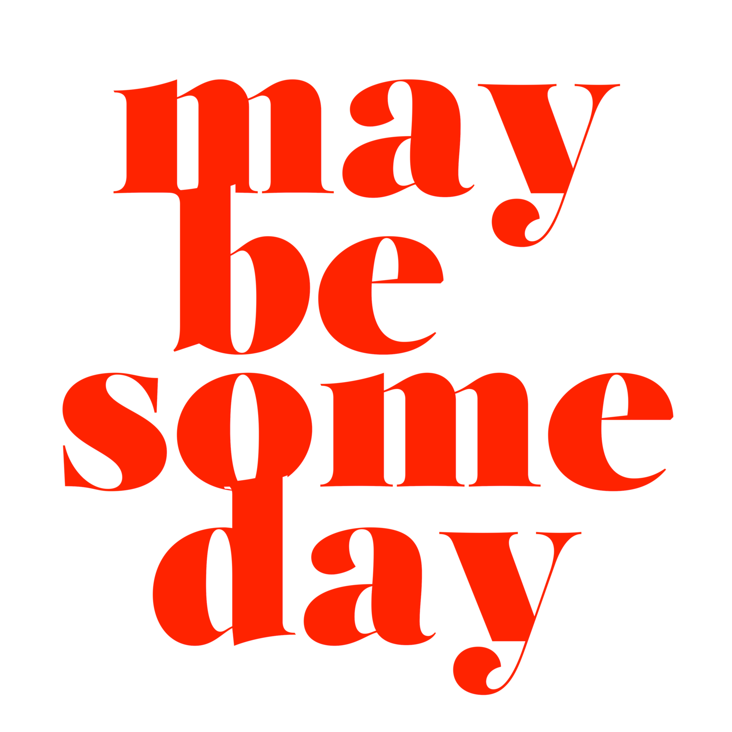 Maybe Someday | A podcast about dealing with not being a mother