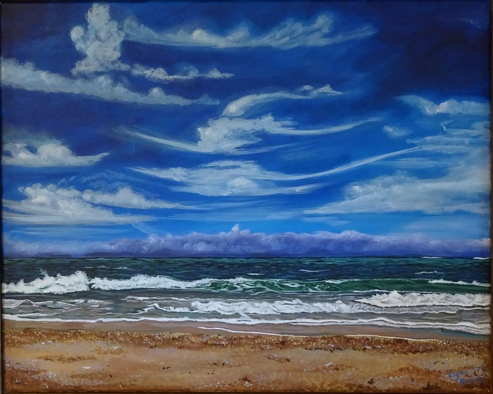 """Matanzas Tranquility"" acrylic on canvas"