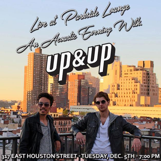 UP&UP LIVE AT PARKSIDE LOUNGE