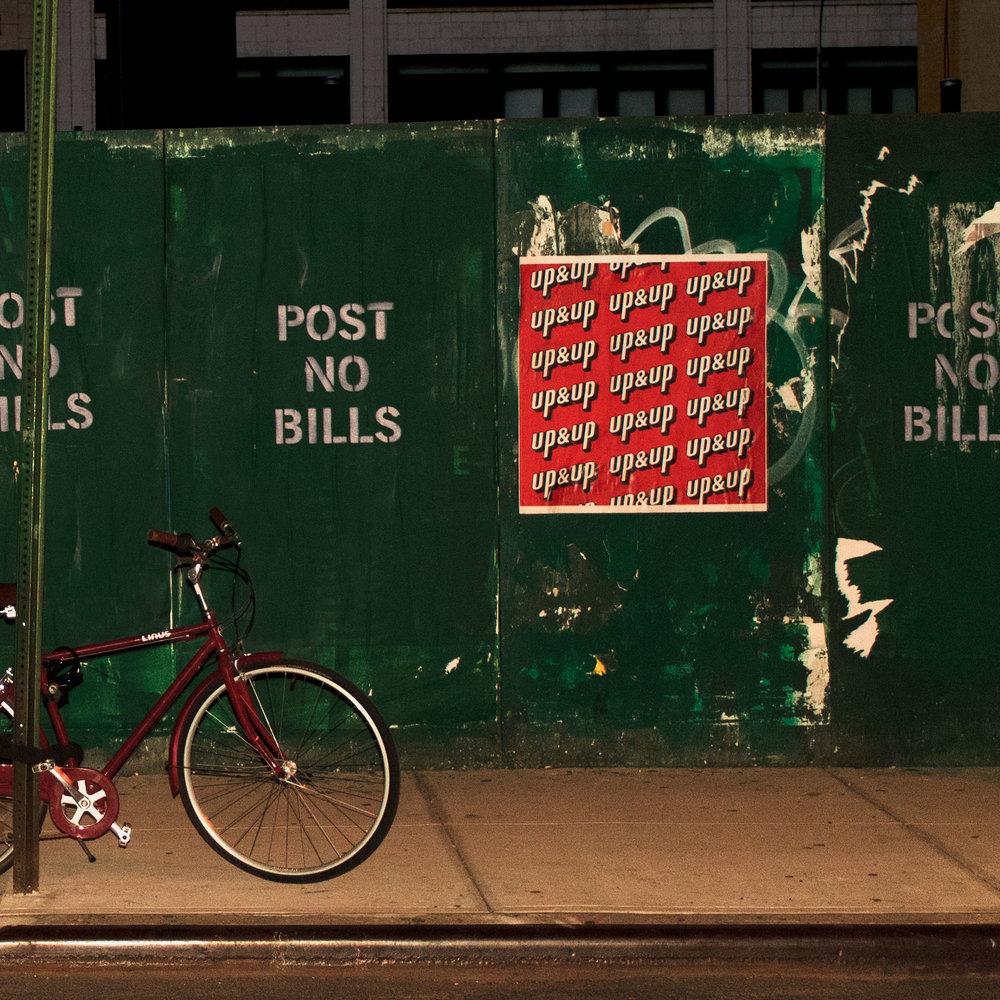 POST NO BILLS EP COVER ARTWORK