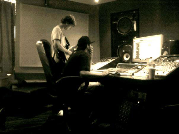 DENSZA TRACKING GUITARS AT SOUTH BEACH STUDIOS IN MIAMI (2012)