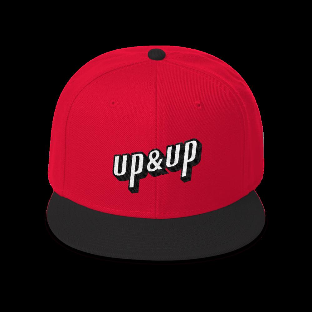 Up&Up Logo Snapback Cap
