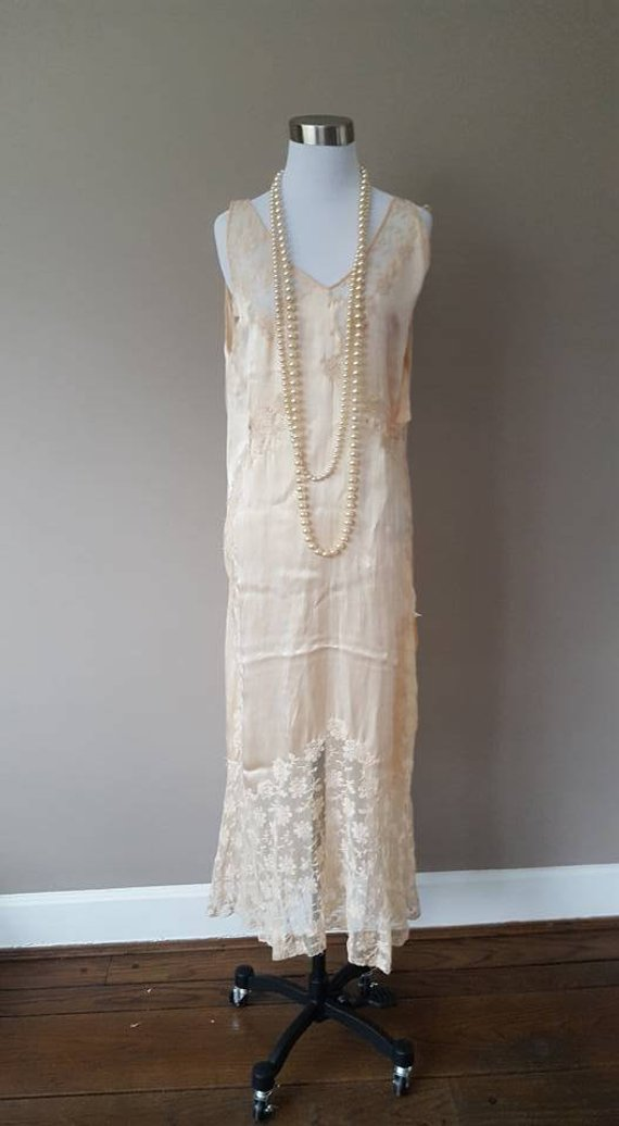 1920s Vintage Statement Dress - It's damages and not intended to be worn, but isn't it amazing!