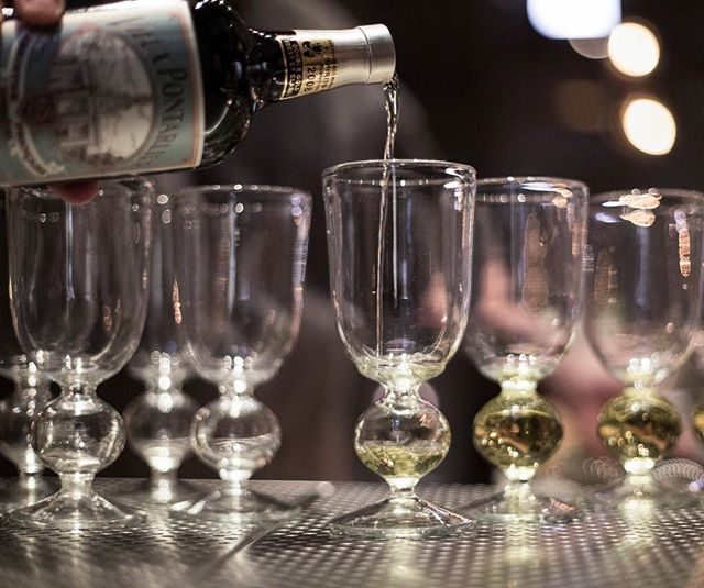 Chase those Winter blues away with #Absinthe this evening. • • Join us at the bar and choose from a wide array Absinthe's from all over the world.