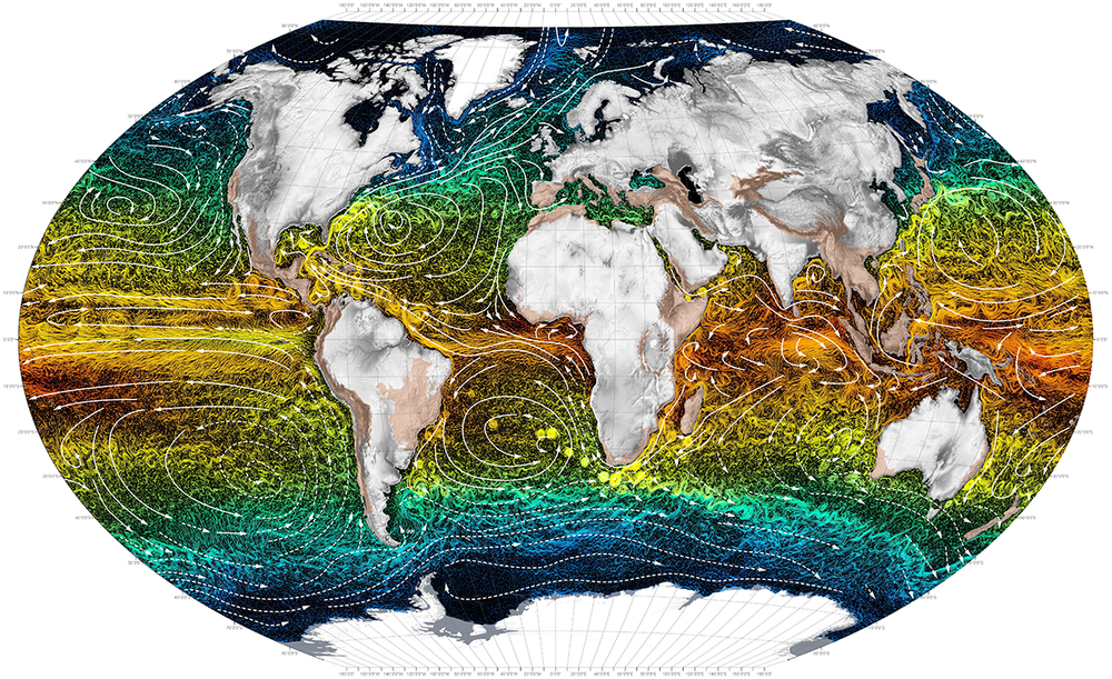 Ocean Currents. Photo by  Atlas for the End of the World