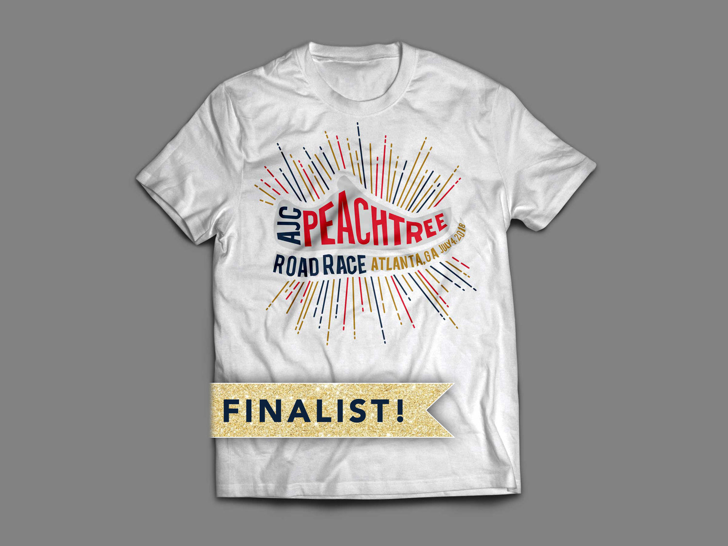 Peachtree Road Race T Shirt Designs Summer Cook