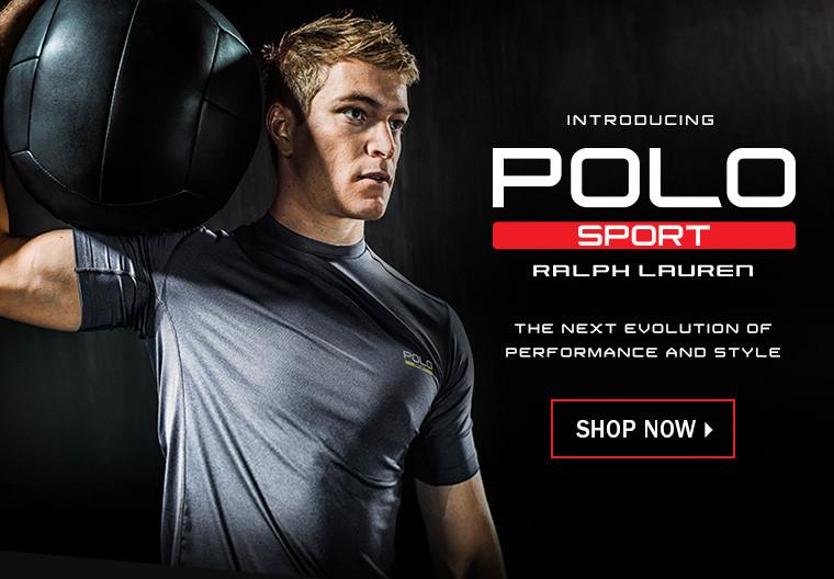 """Part of Polo Ralph Lauren's """"Sport"""" campaign"""