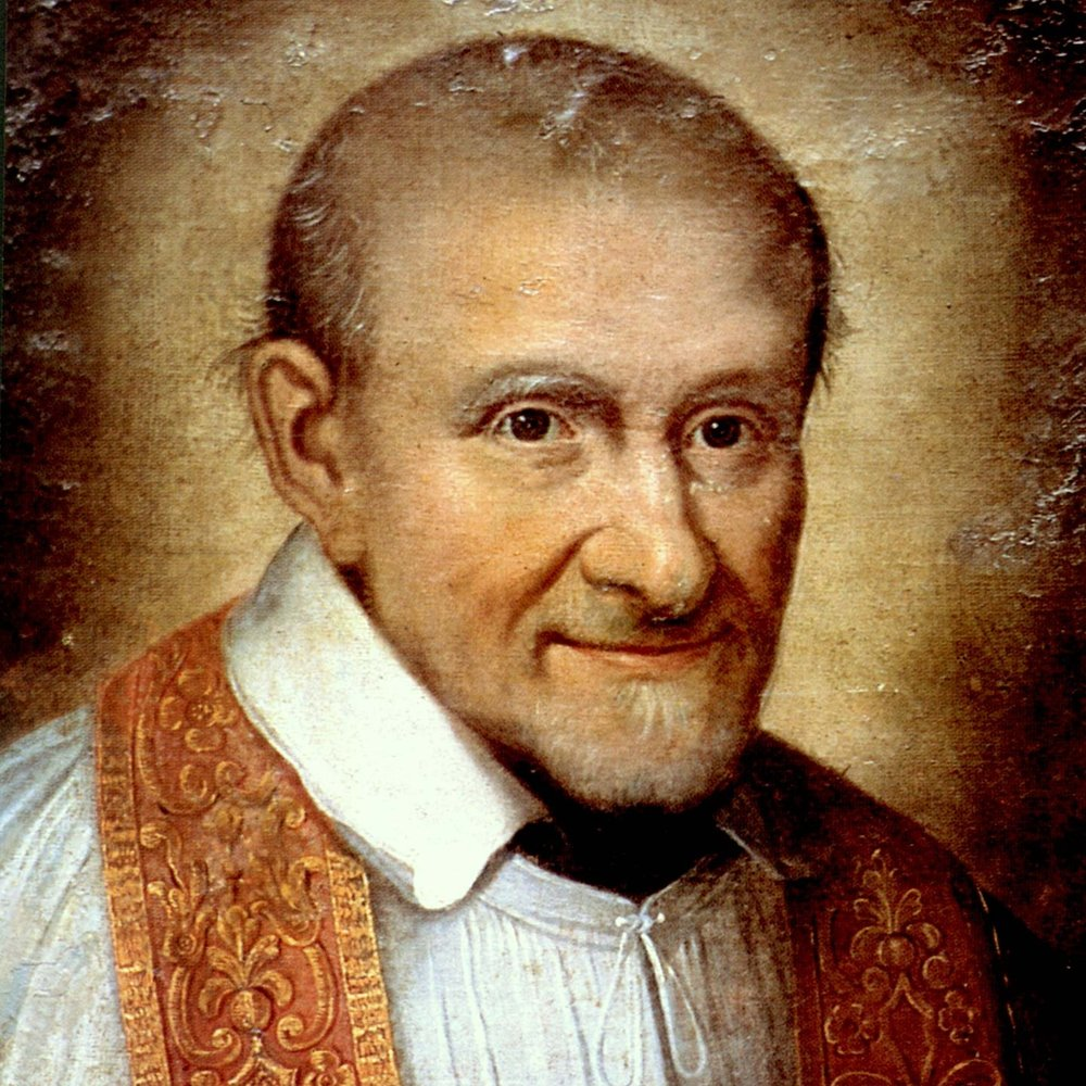 """""""Extend your mercy towards others, so that there can be no one in need whom you meet without helping."""" - - Saint Vincent de Paul"""