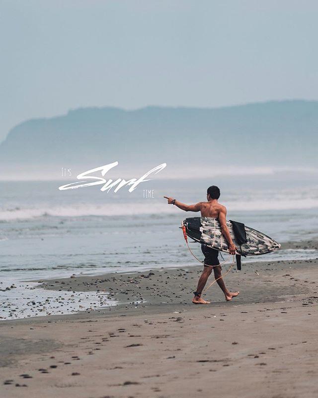 It's surf time 🤙🏽 // j'avais pas le choix de faire un petit album de surf quand même! 🤷🏽♂️