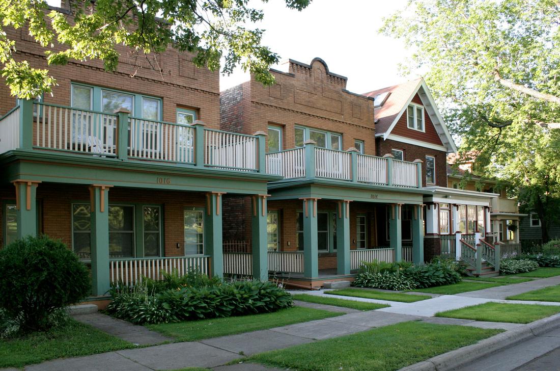 Twin Duplexes in my hometown - Duluth, MN (T-4) photo by Sandy Sorlien
