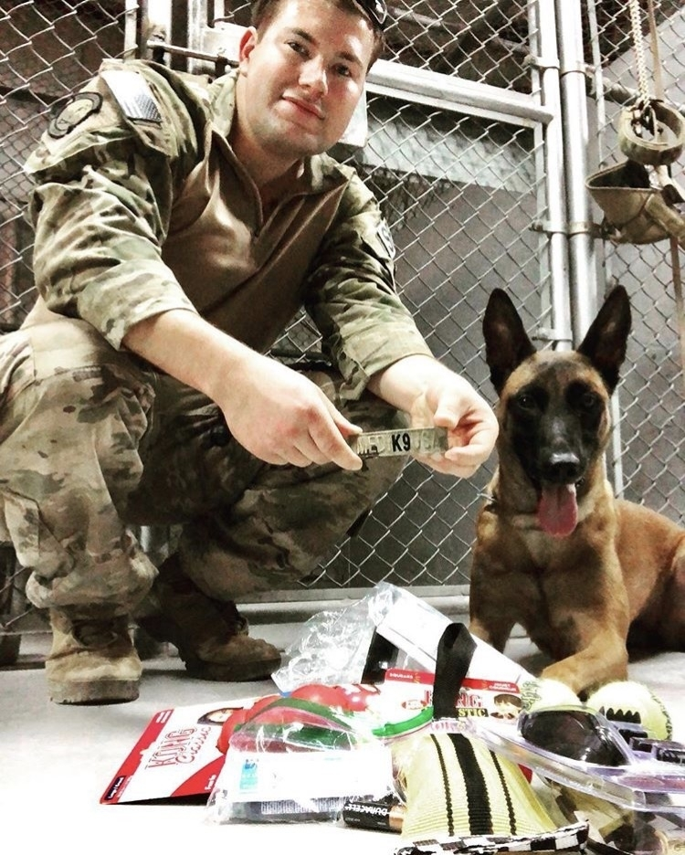 5/20/18 - SSgt. Patron and K9-Xxue of the USAF Security Forces