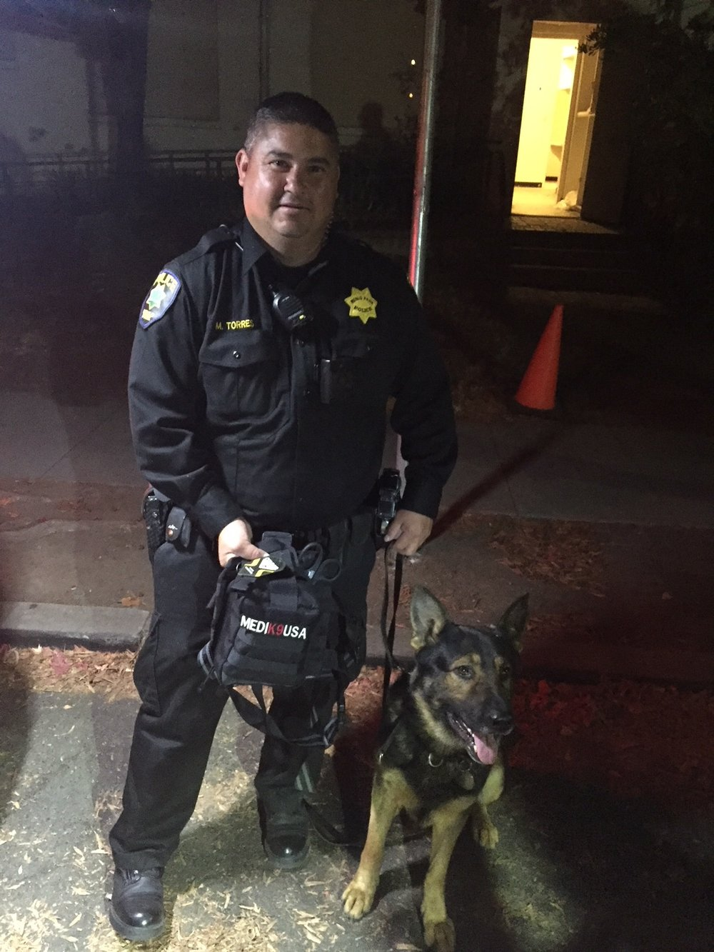10/1/18 - K9 Hardy of the Menlo Park Police Department, Ca