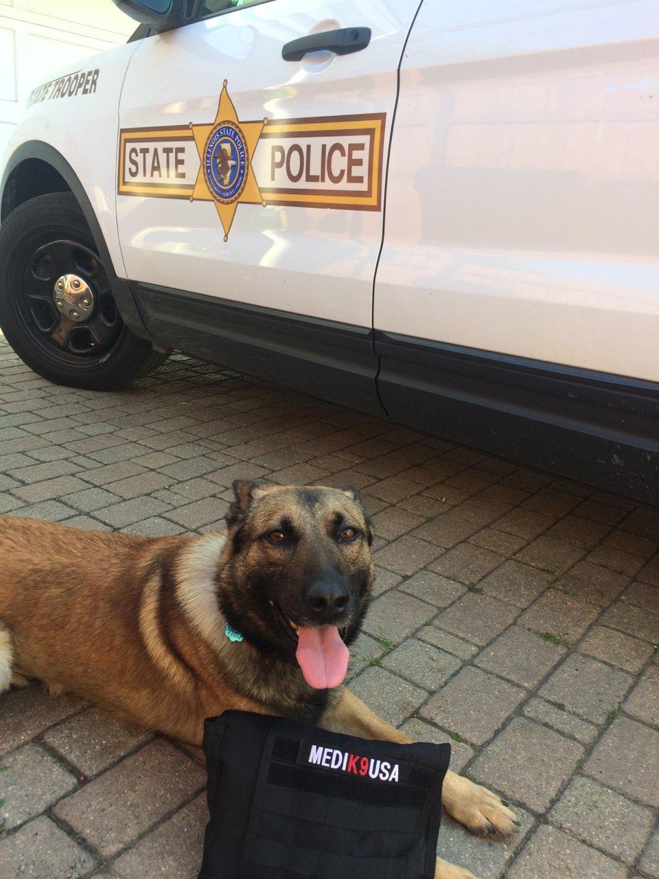 5/14/18 - K9 Biko of the Illinois State Police