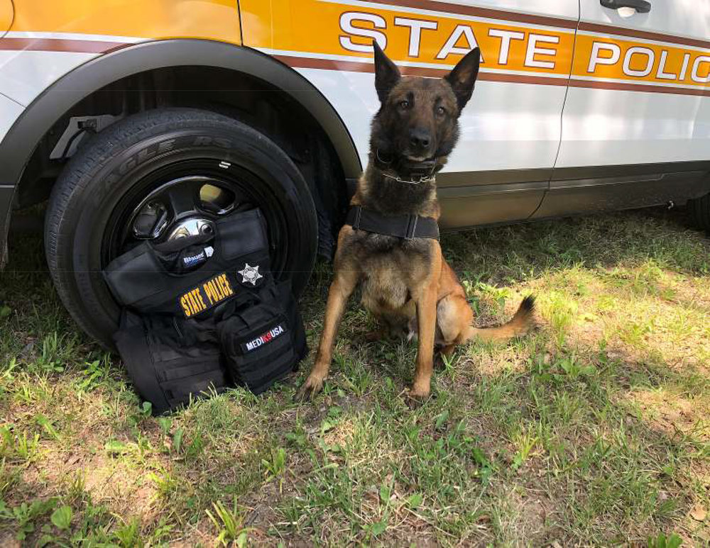 5/14/18 - K9 Hank of the Illinois State Police