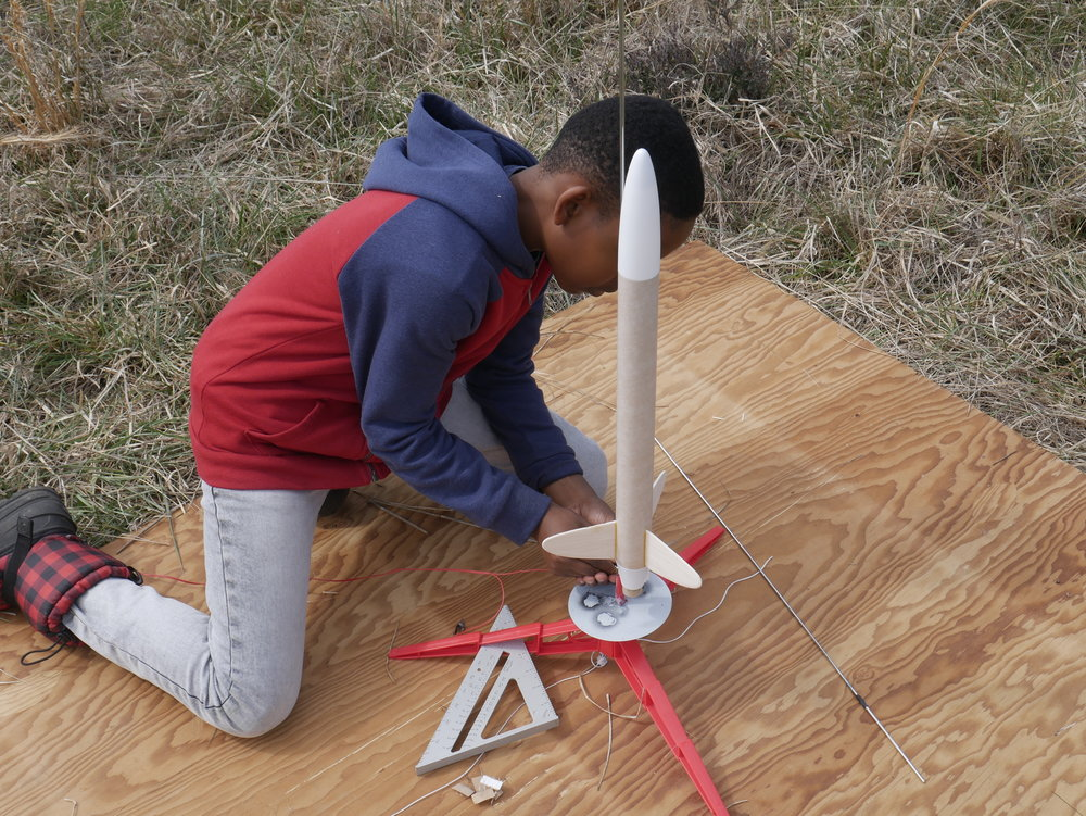 BOOST rocketry project team @ Duke Forest