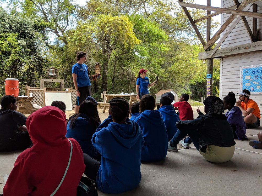 BOOST Scholars taking part in the Sea to Sound program @ Pine Knoll Shores
