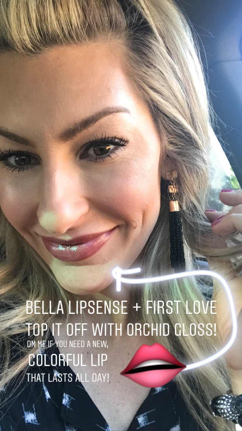 Talk to me about Lipsense, too! I swear by it!