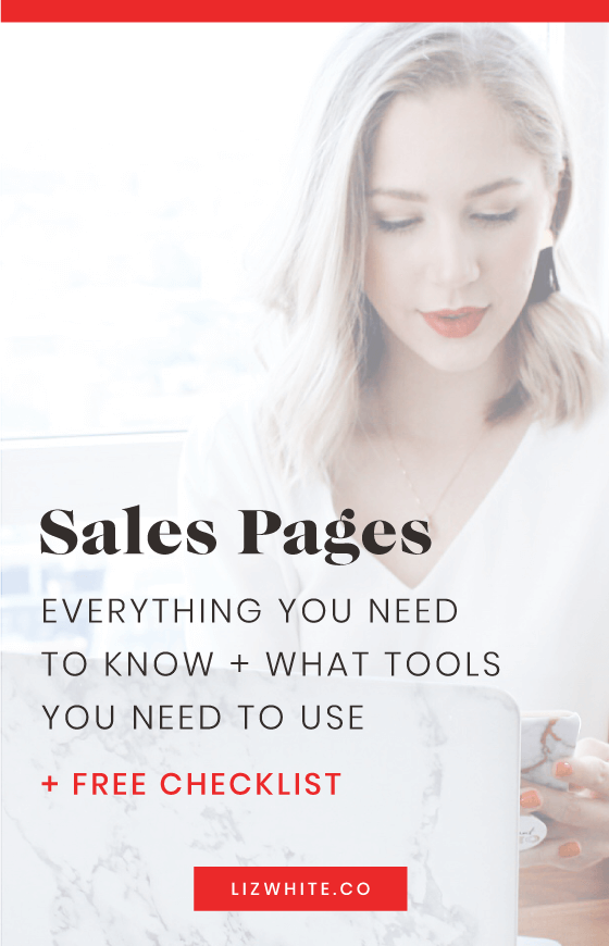 The buzz around sales pages is that people are catching on to how well they make people money. It is a tried and true method for selling your offer, a tad formulaic, but still very good at getting the job done and growing your business. I'm here to lift the veil on what a sales page is, why you need a sales page, and the top things you need to know about designing sales pages.