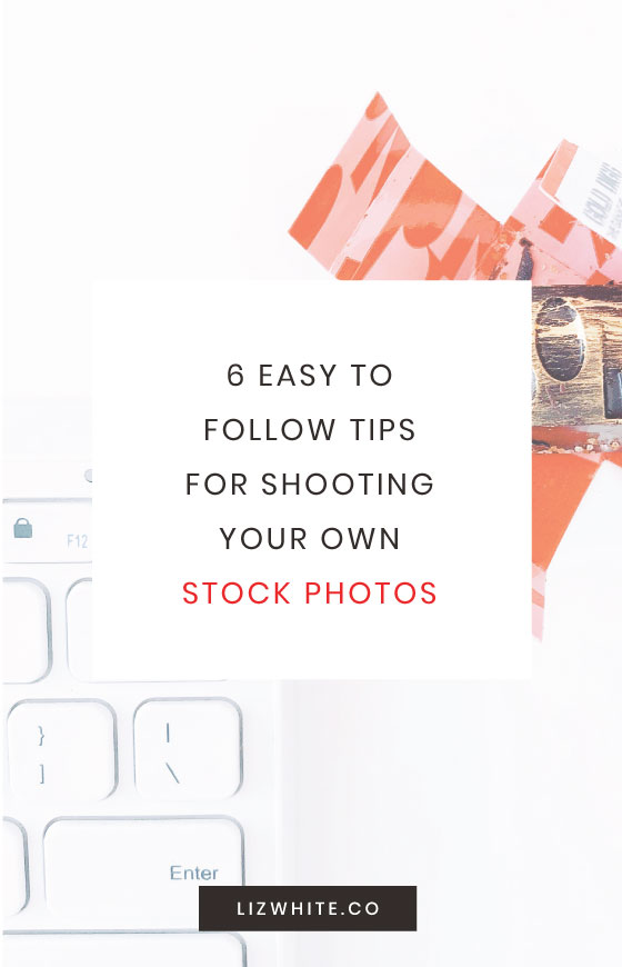 Easy to follow tips for shooting your own stock photos and product photography. DIY stock photos are easy! Plus the best tripod for flatlays.