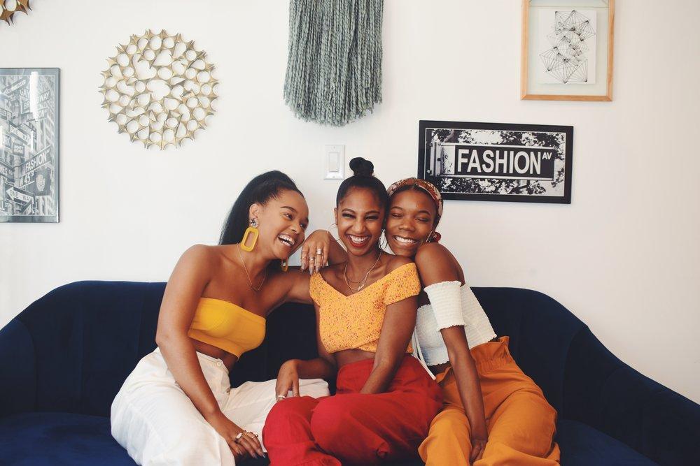 Black girls in bed