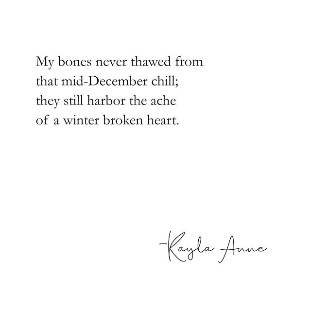 I'm obviously handling the cold very well. ❄️ . . You can find pieces like this and more in my new book, These Lessons I've Learned. You can preorder a copy using the link in my bio 🧡💛