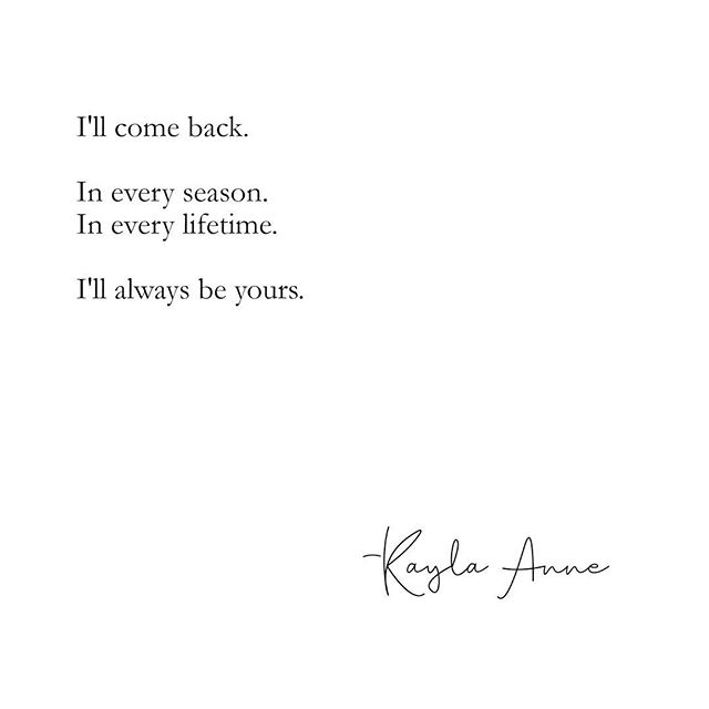 In every lifetime and then some. 🧡💛 . . You can find pieces like this and more in my book, These Lessons I've Learned, now available using the link in my bio. Xx