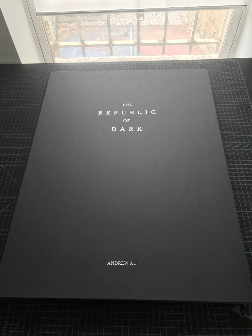 Republic of Dark Portfolio Box Exterior