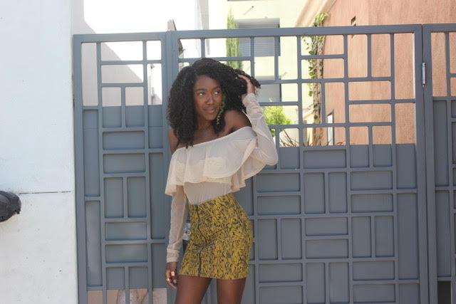Top - Zara  Skirt - Urban Outfitters  Shoes - Zara