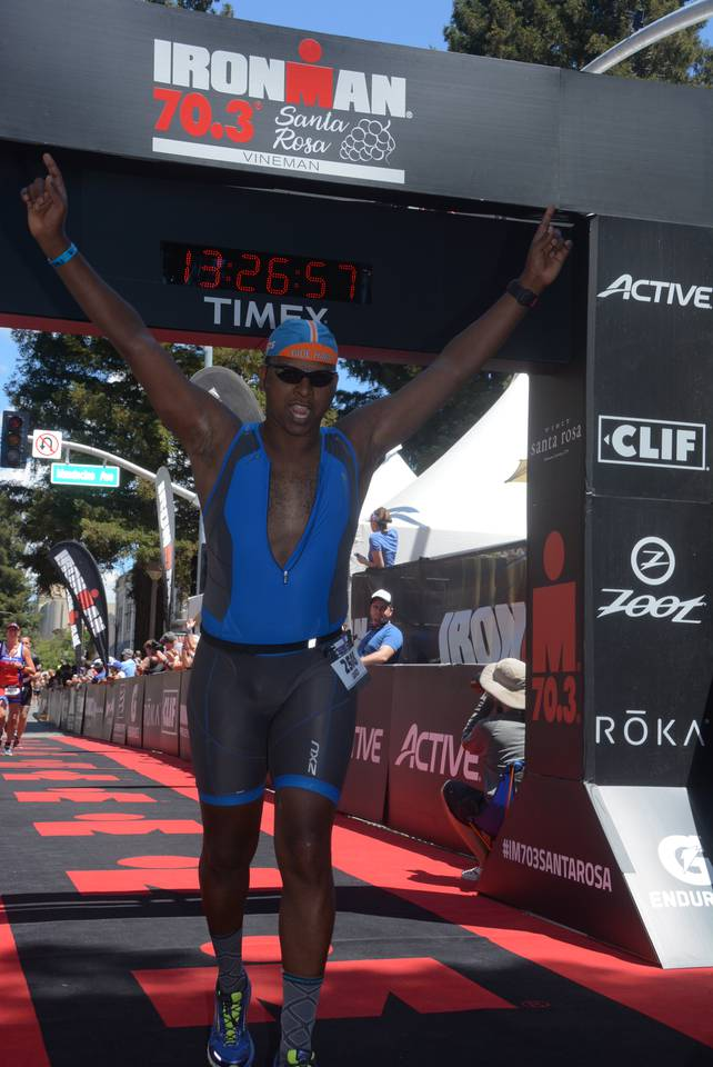 Nothing felt worse. Nothing felt better. - IRONMAN 70.3 Santa Rosa, May 2017.