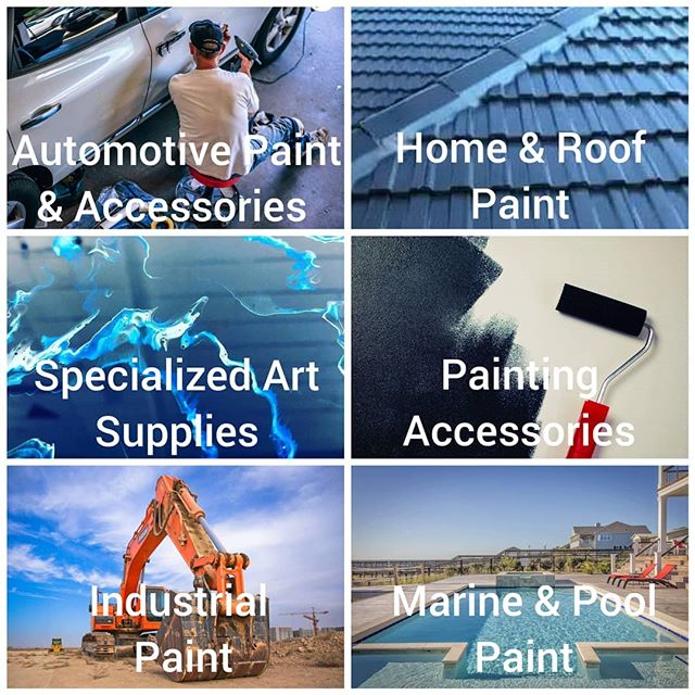 We've got you covered with our extensive range of paints and accessories 👌  Home,  Automotive, Industrial, Marine and Artistic solutions, we are your ONE STOP SHOP!  At direct trade and wholesale prices you can't go wrong at GAWLER PAINT PLACE!  Come in and chat to the experts! 🎨⚡