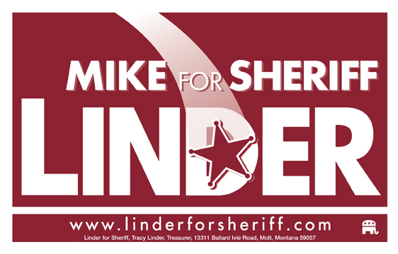 Mike Linder for Yellowstone County Sheriff