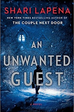 An Unwanted Guest(thriller 5/5) - It's winter in the Catskills and the weather outside is frightful.But Mitchell's Inn is so delightful! The cozy lodge nestled deep in the woods is perfect for a relaxing--maybe even romantic--weekend away. The Inn boasts spacious old rooms with huge wood-burning fireplaces, a well-stocked wine cellar, and opportunities for cross-country skiing, snowshoeing, or just curling up with a book and someone you love.So when the weather takes a turn for the worse, and a blizzard cuts off the electricity--and all contact with the outside world--the guests settle in for the long haul. The power's down but they've got candles, blankets, and wood--a genuine rustic experience! Soon, though, a body turns up--surely an accident. When a second body appears, they start to panic. Then they find a third body. Within the snowed-in paradise, something--or someone--is picking off the guests one by one. They can't leave, and with no cell service, there's no prospect of getting the police in until the weather loosens its icy grip. The weekend getaway has turned deadly. For some couples, it's their first time away. For others, it will be their last. And there's nothing they can do about it but huddle down and hope they can survive the storm.For anyone that loves Agatha Christie, specifically And Then There Were None, you will love this. This thriller kept me on my toes and I devoured it in 24 hours. Although the ending wasn't as intense as I hoped for, there is still a few twists! In perfect Agatha Christie fashion, the last chapter is SO important.At just over 300 pages, this is a quick read for when you're feeling a fast-paced thriller. Shari Lapena is an instant must read author for me now and I have The Couple Next Door on my TBR (to be read) list for April!