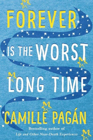 "Forever is the worst long time (light fiction 4.5/5) - When struggling novelist James Hernandez meets poet Louisa ""Lou"" Bell, he's sure he's just found the love of his life. There's just one problem: she's engaged to his oldest friend, Rob. So James toasts their union and swallows his desire.As the years pass, James's dreams always seem just out of reach—he can't finish that novel, can't mend his relationship with his father, can't fully commit to a romantic relationship. He just can't move on. But after betrayal fractures Lou's once-solid marriage, she turns to James for comfort.When Lou and James act on their long-standing mutual attraction, the consequences are more heartbreaking—and miraculous—than either of them could have ever anticipated. Then life throws James one more curveball, and he, Rob, and Lou are forced to come to terms with the unexpected ways in which love and loss are intertwined.I really enjoyed how this book shows all facets of relationships - friendship, romance, parental. It focuses on how to get your life back on track when it feels like everything has fallen apart. That feeling is something we've all experienced at one time or another. Camille Pagan is a new-to-me author but I'm excited to read some of her other books!"