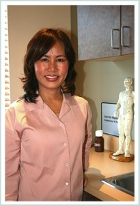 DR. JOAN KIM WAGNER - 3rd Generation Master Acupuncturist, Holistic Doctor, Ph.D, L.Ac.  Ph.D. in Acupuncture and Oriental Medicine at Yuin University in Southern California  Masters of Science in Acupuncture and Oriental Medicine at Dong-Guk University in Los Angeles  Board Certified Acupuncturist in the State of California  Nationally Certified through the NCCA