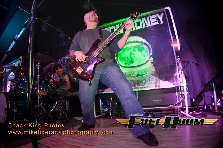 Tom Hammerl - Panty Melter Deluxe with CheeseBass GuitarOther Bands: Moon Money is the only one for him.Equipment: Schecter Guitars, Mark Bass Amp & CabFavorite Food: BurritosFavorite Adult Beverage: 40oz of Old English 800