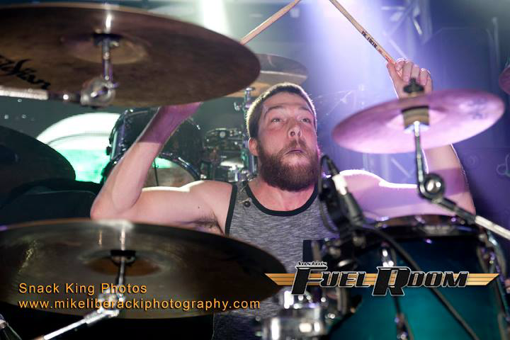 Kory Sjoberg - Human MetronomeDrumsOther Bands: Rough Nite Out, Tazer Friendly, One More Tomorrow, Jordan Engelhardt, Chasing Alice, 20twelve, Elastic Cause, Too Late The Hero.Equipment: Tama Drums, Zildjin Cymbals, Vic Firth SticksFavorite Food: Meat LoafFavorite Adult Beverage: IPA beers