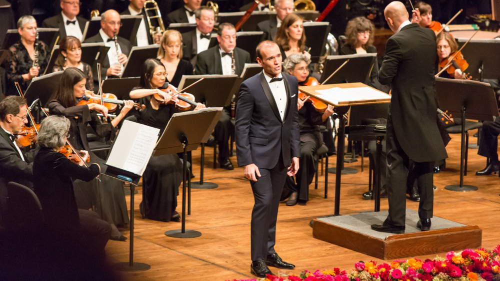 Michael Fabiano stars in the upcoming Richard Tucker Gala \ Credit: Dario Acosta