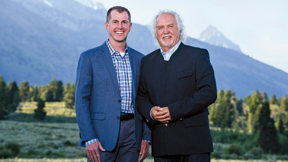 Andrew Palmer Todd (left) and GTMF Music Director Donald Runnicles (right).