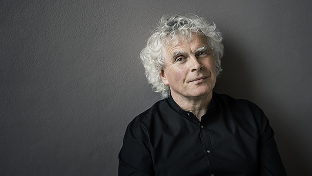 Sir Simon Rattle. Credit: Oliver Helbig.
