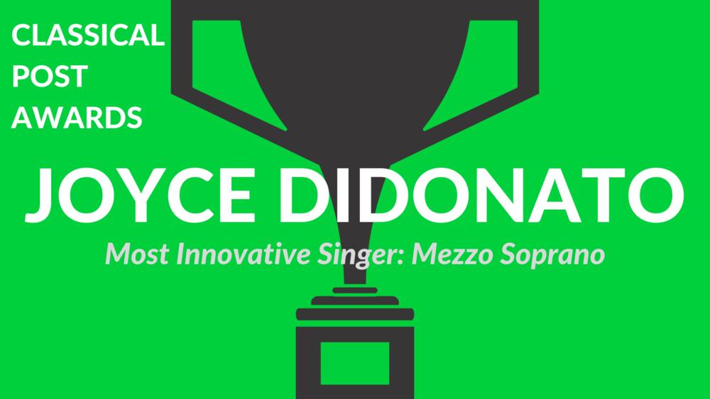 Classical Post Awards 2018 Joyce DiDonato