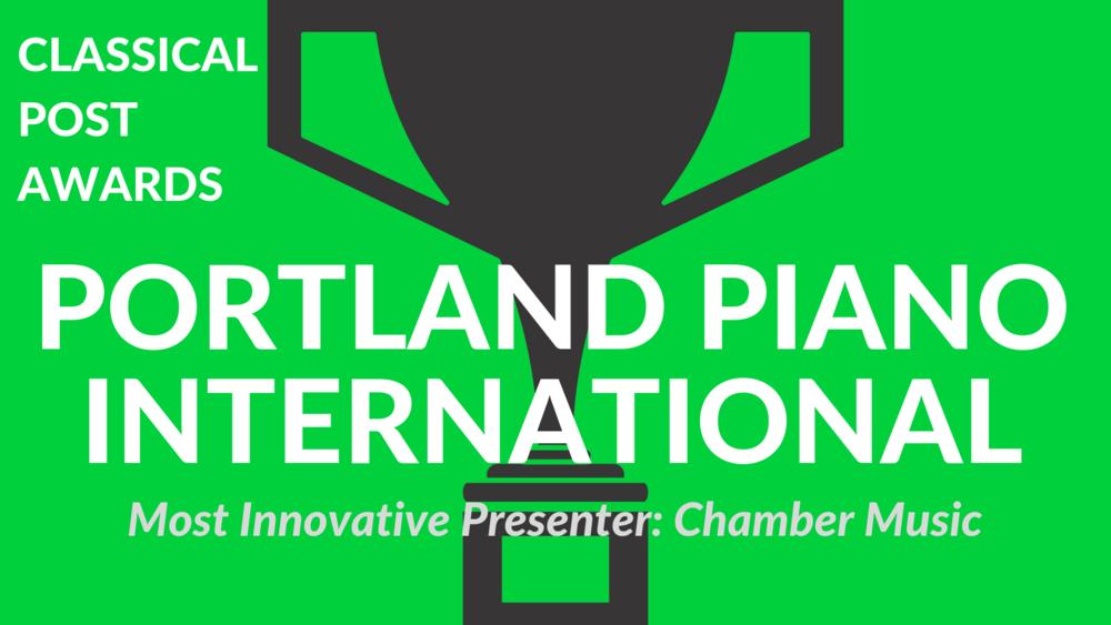 Classical Post Awards 2018 Portland Piano International