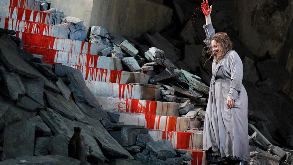 Elektra  by the Lyric Opera of Chicago. Photo credit: Cory Weaver