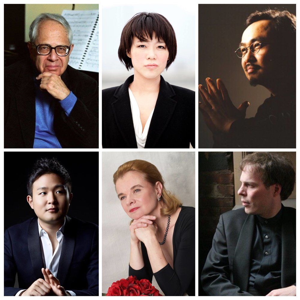 7th Annual Philadelphia Young Pianists' Academy faculty (clockwise): Gary Graffman; Ching-Yun Hu; Dang Thai Son; Yekwon Sunwoo; Lydia Artymiw; and Alon Goldstein
