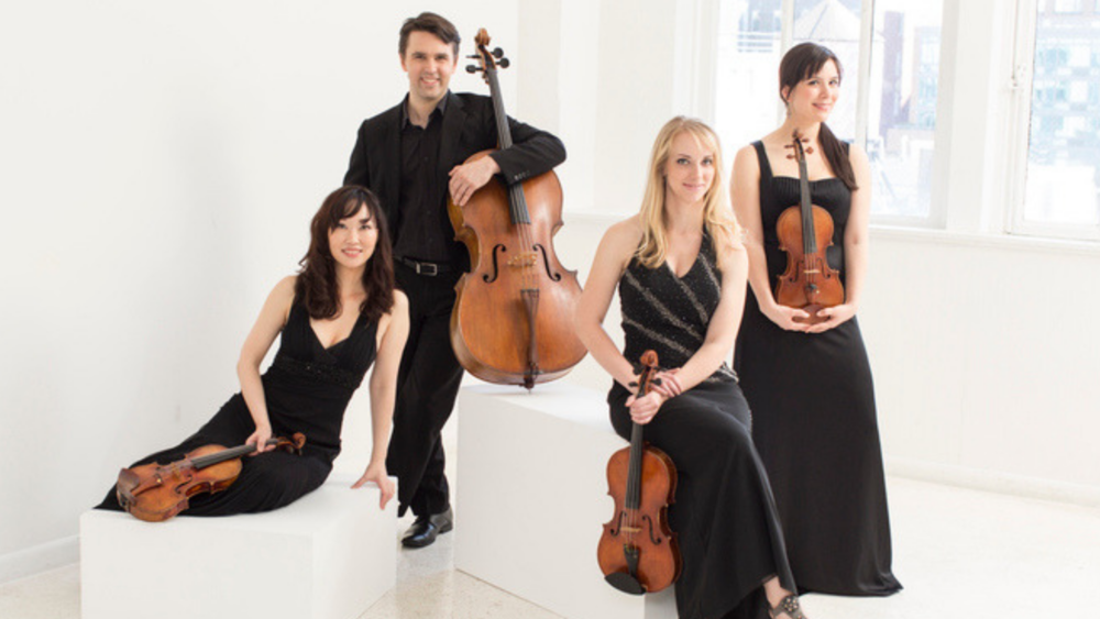 Solera Quartet: Tricia Park, Andrew Janss, Molly Carr, and Miki-Sophia Cloud